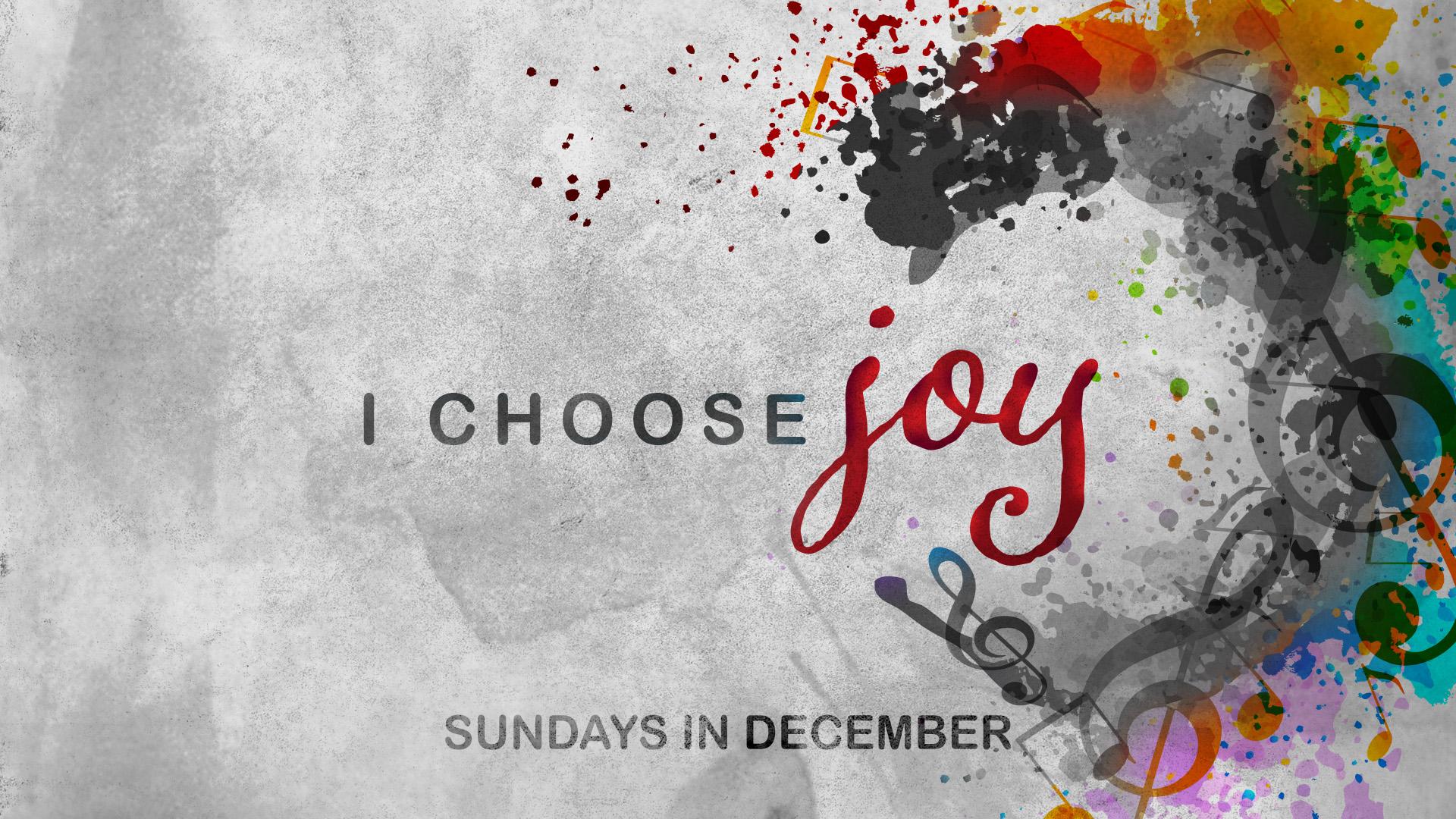 Christmas Eve 2020 : Joy To The World, December 24 I Choose Joy | Christmas Message Series |   Broad River Church